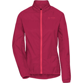 VAUDE Air III Jas Dames, crimson red